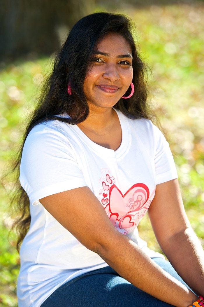 Dinali Shreekumar Lakshika, Sri Lanka, BSc student