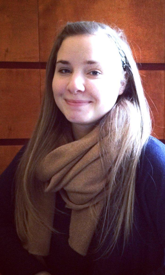 Orsolya Csiszár, Arts Management student