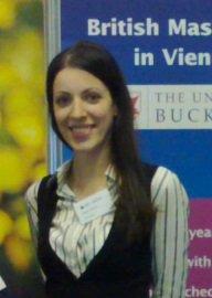 Milena Drace, Canada, MSc student in Vienna